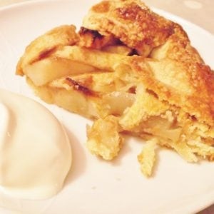 Freeform Pear Tart
