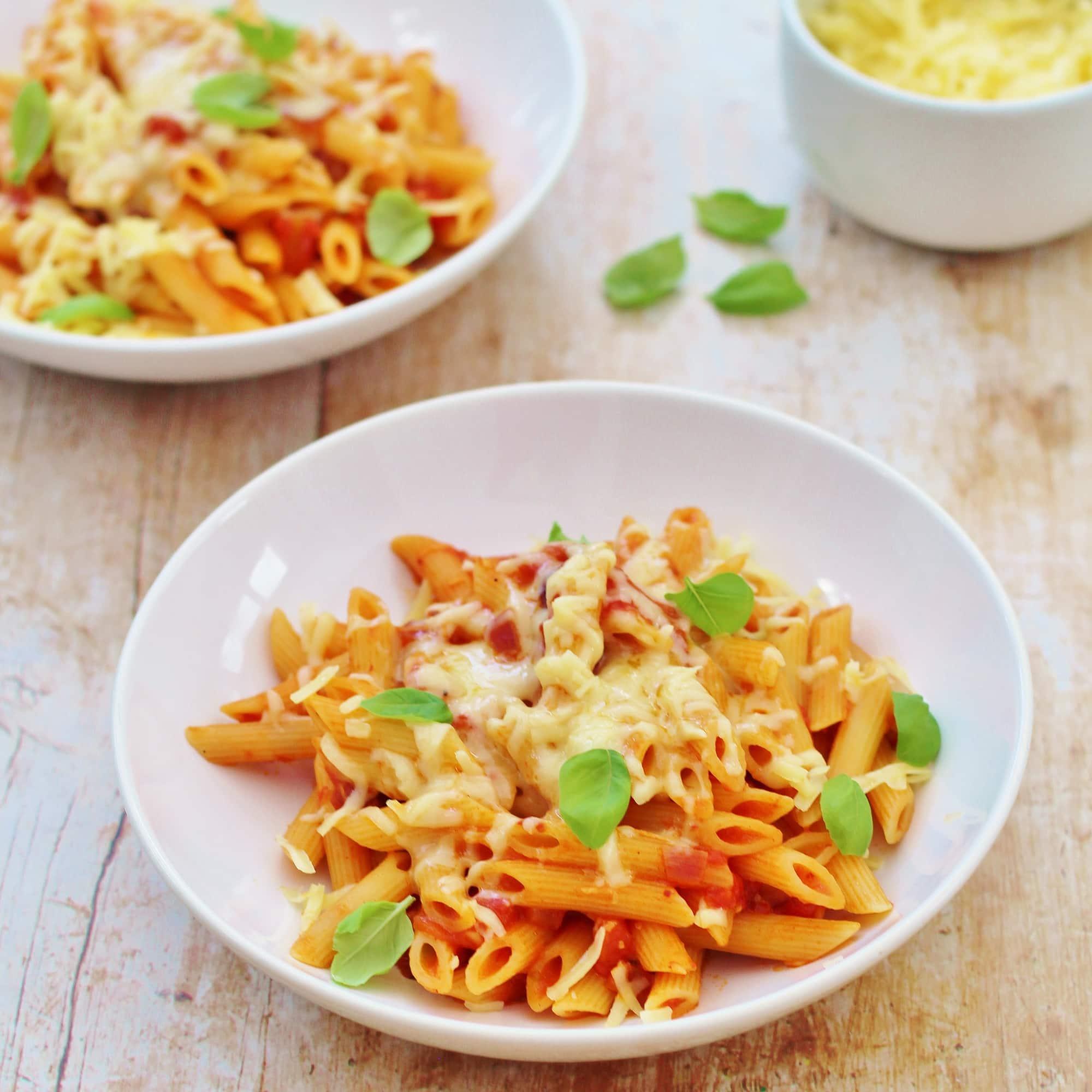 Easy Tomato Pasta Easy Peasy Foodie