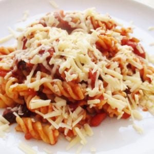 Easy Homemade Tomato Pasta