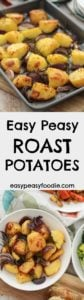Easy Peasy Roast Potatoes