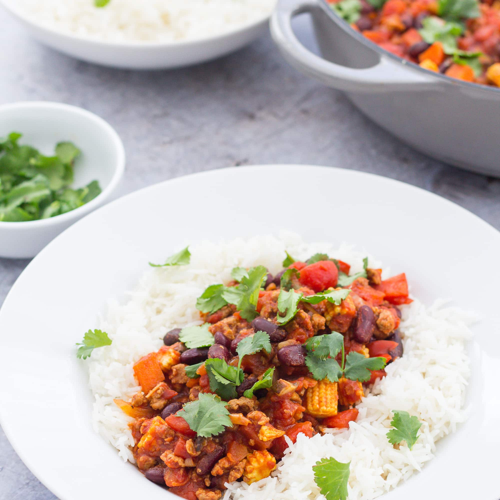 30 Stress Free Easy Camping Food Ideas Your Family Will: Easy Quorn Chilli Con Carne