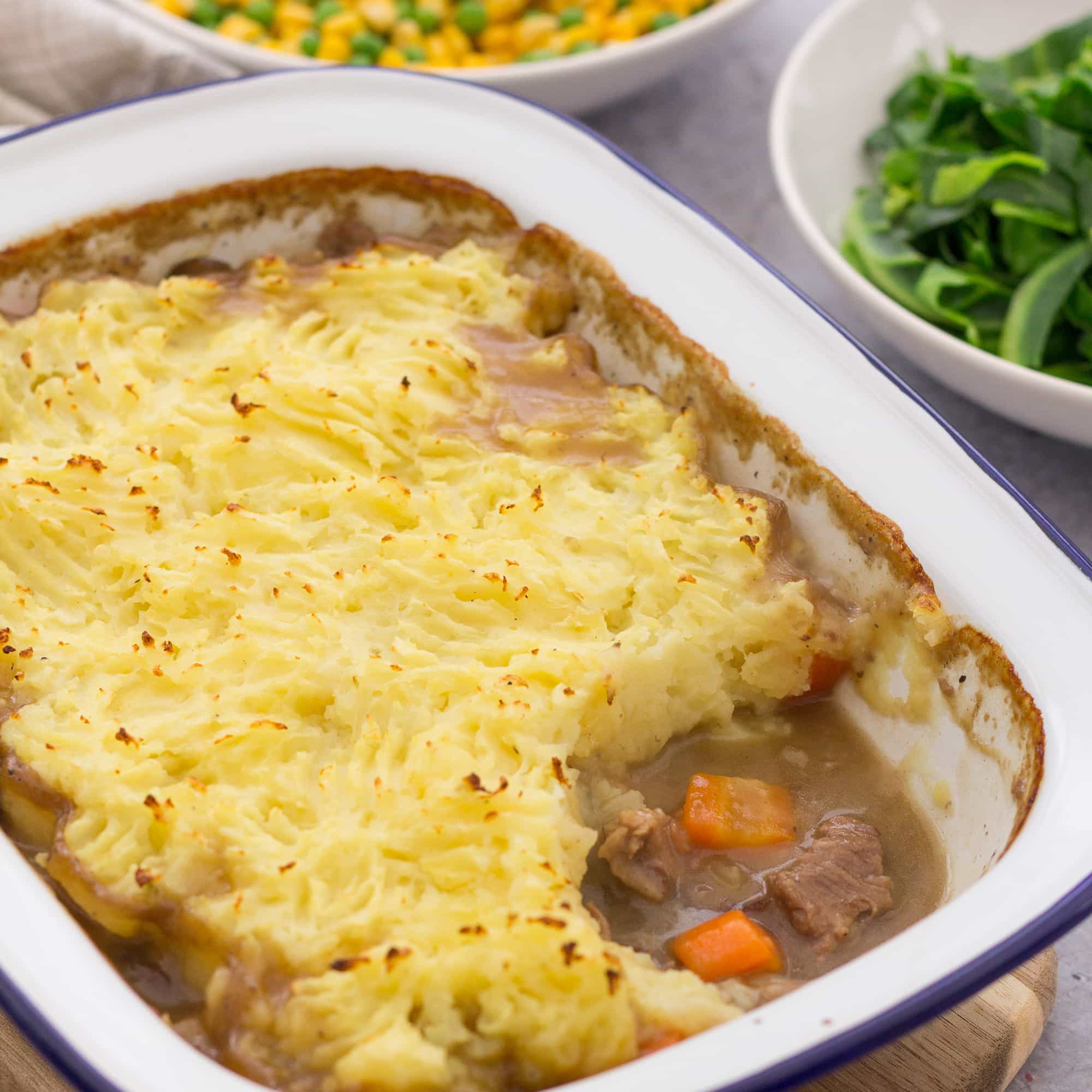 30 Stress Free Easy Camping Food Ideas Your Family Will: Leftover Roast Lamb Shepherds Pie