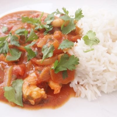 Simple Prawn Curry