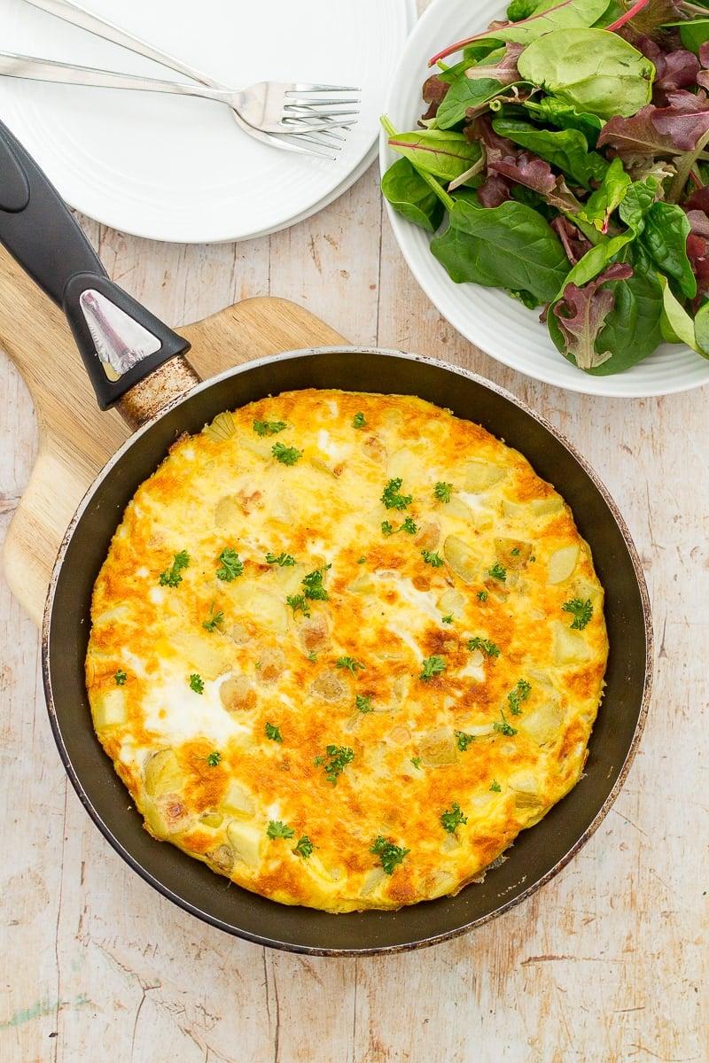 Easy Spanish Omelette