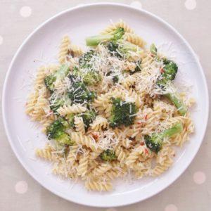 Broccoli, Lemon and Chilli Pasta