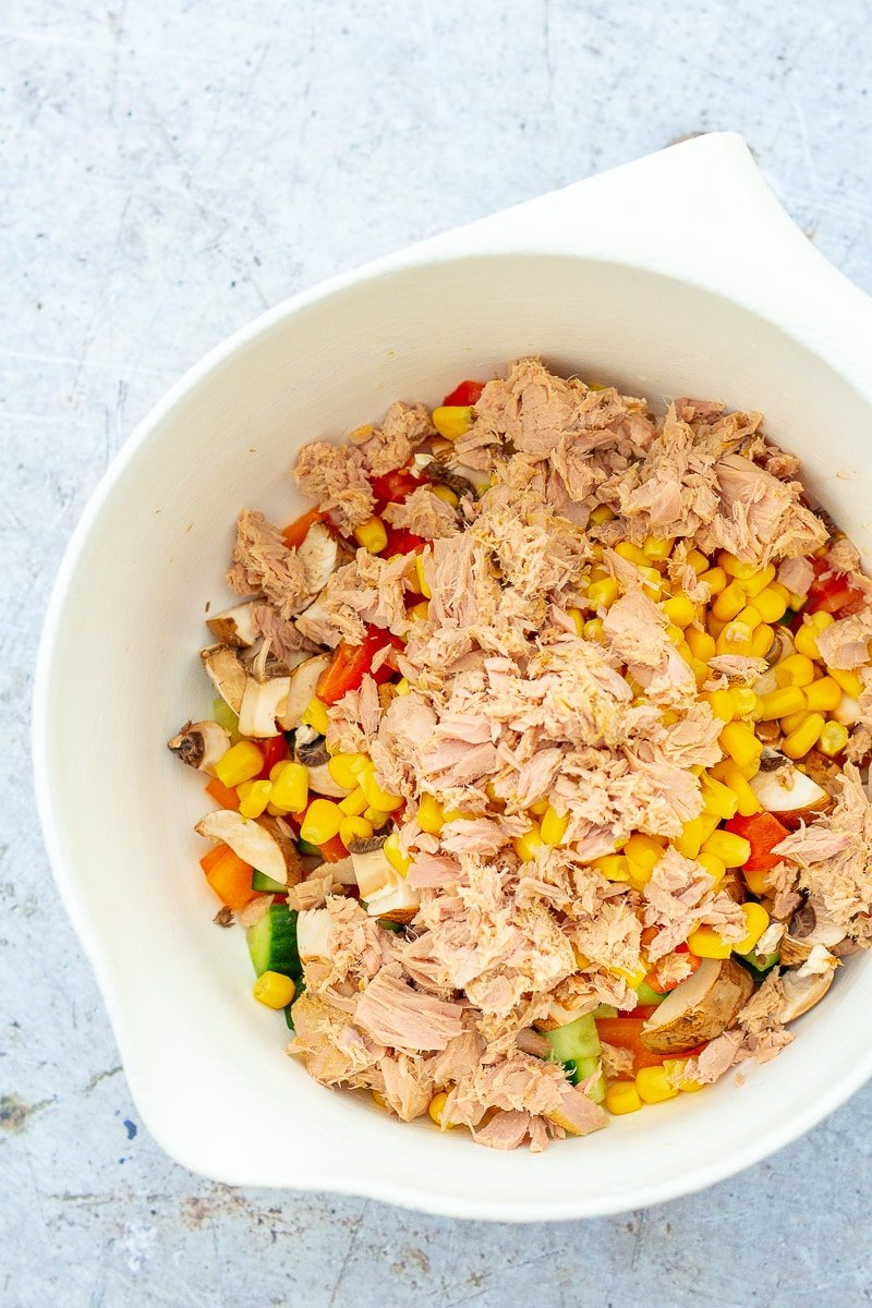 Easy Tuna Rice Salad