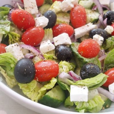 Easy Peasy Greek Salad