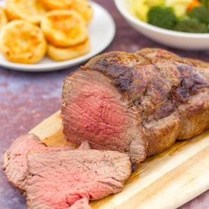 Simple Roast Beef and Mini Yorkshire Puddings