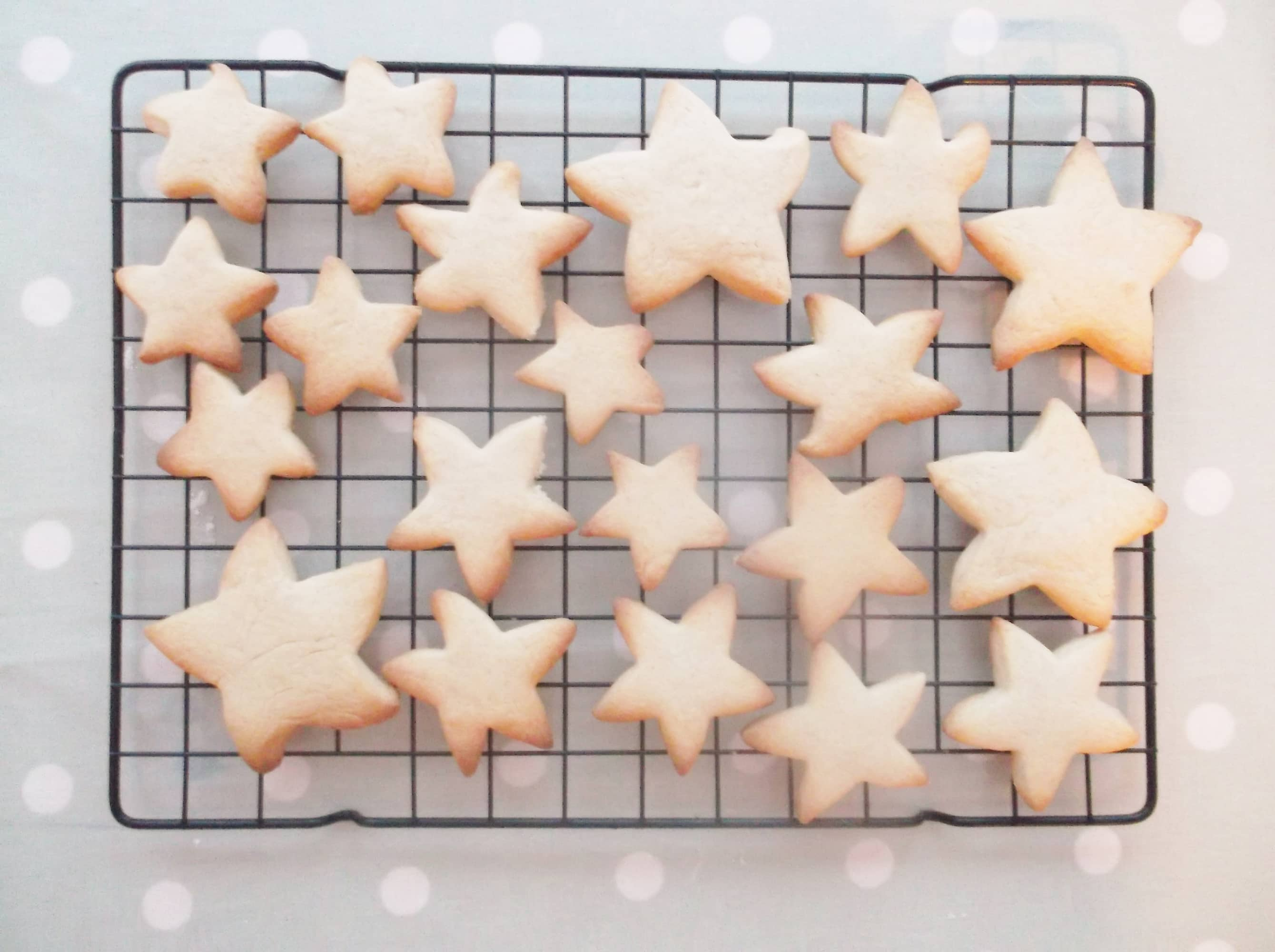 Easy Peasy Christmas Star Biscuits Easy Peasy Foodie