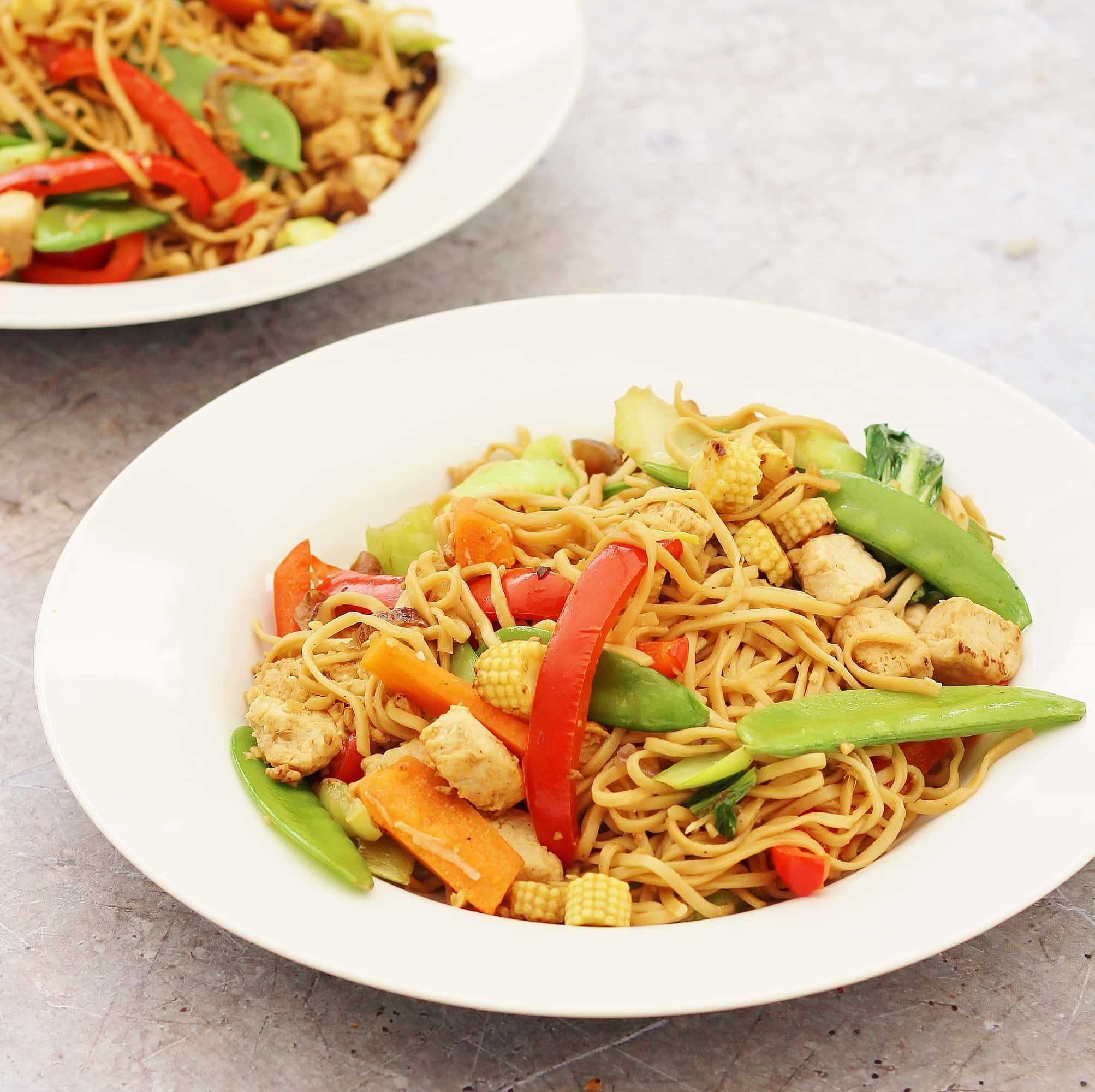 30 Stress Free Easy Camping Food Ideas Your Family Will: Easy Quorn Stir Fry With Noodles