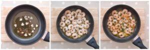 Spanish Garlic Prawns Collage