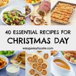 Planning what to make on Christmas Day? Worried you might have forgotten something? Worry no more! Here are my 40 Essential Christmas Recipes... #