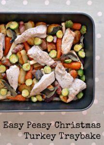 Easy Peasy Christmas Turkey Traybake
