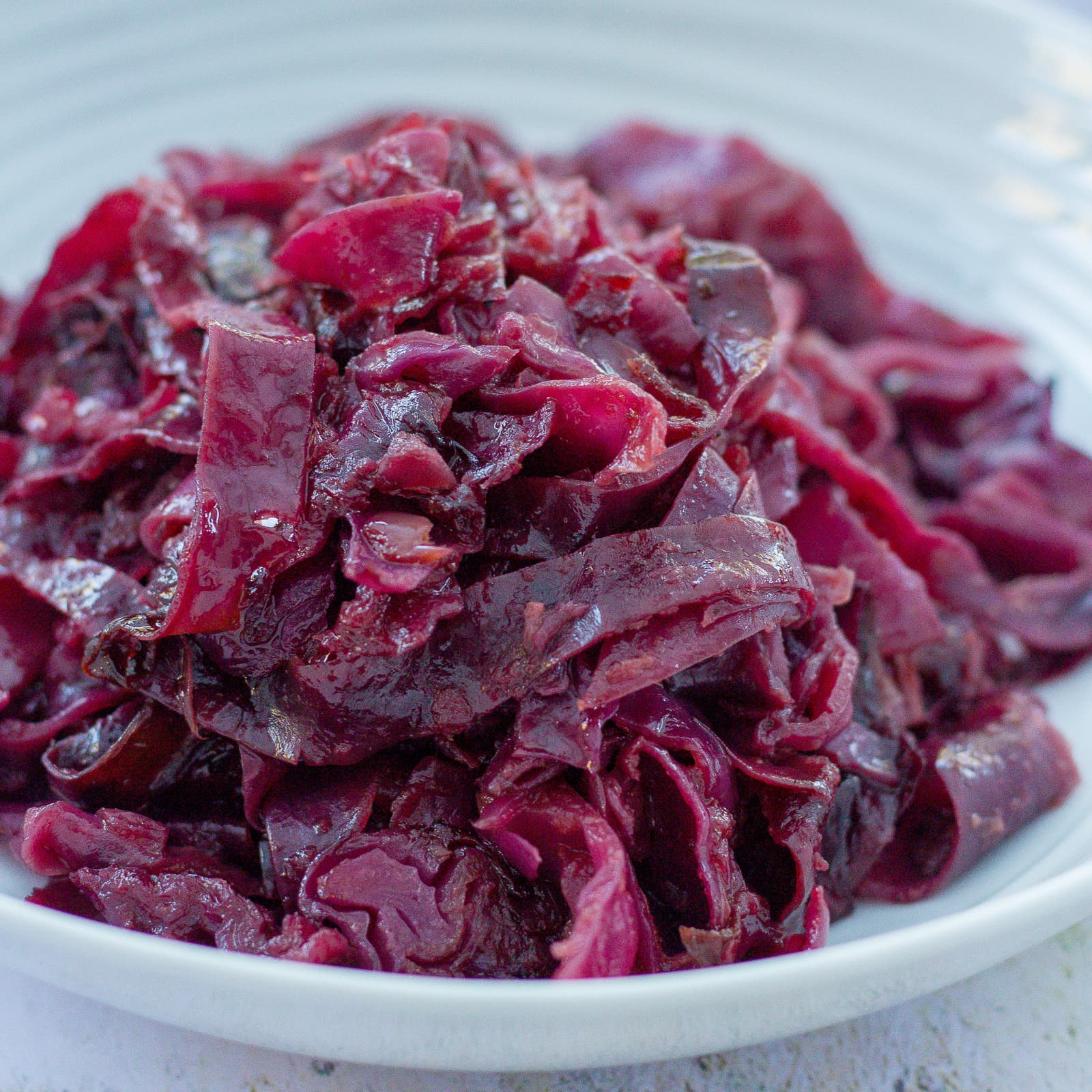 Braised Red Cabbage Easy Peasy Foodie