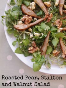 Pear and Walnut Salad 4 with text