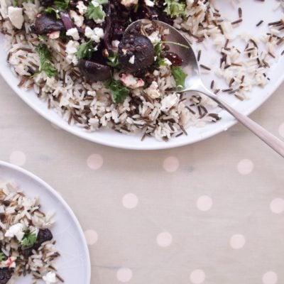 Beetroot, Lentil and Feta Salad