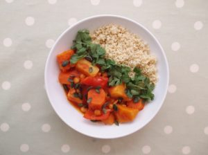 Root Vegetable Tagine with Wholewheat Couscous