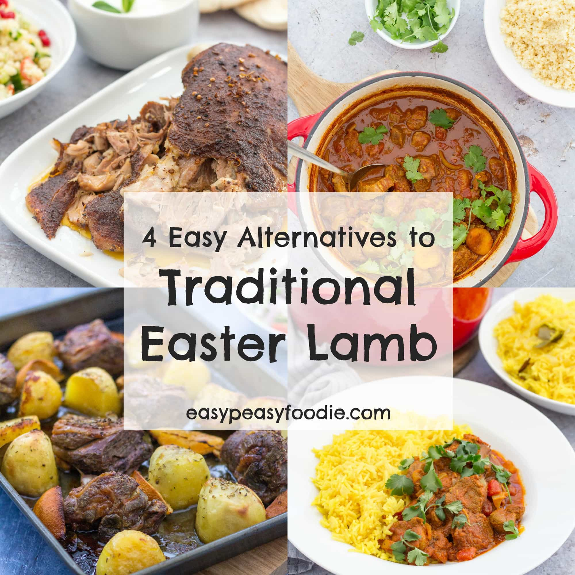 30 Stress Free Easy Camping Food Ideas Your Family Will: 4 Easy Alternatives To Traditional Easter Lamb