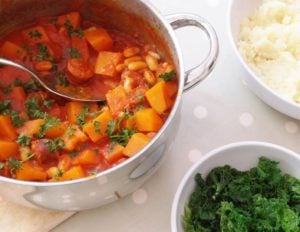 Chorizo and Butternut Squash Stew