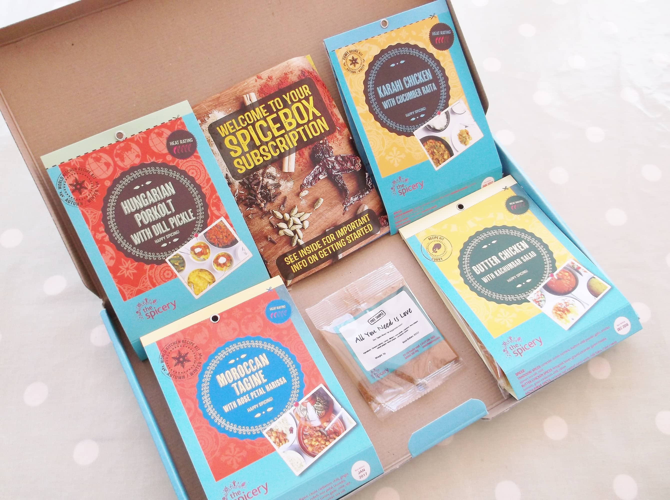Review: The Spicery Recipe Kits