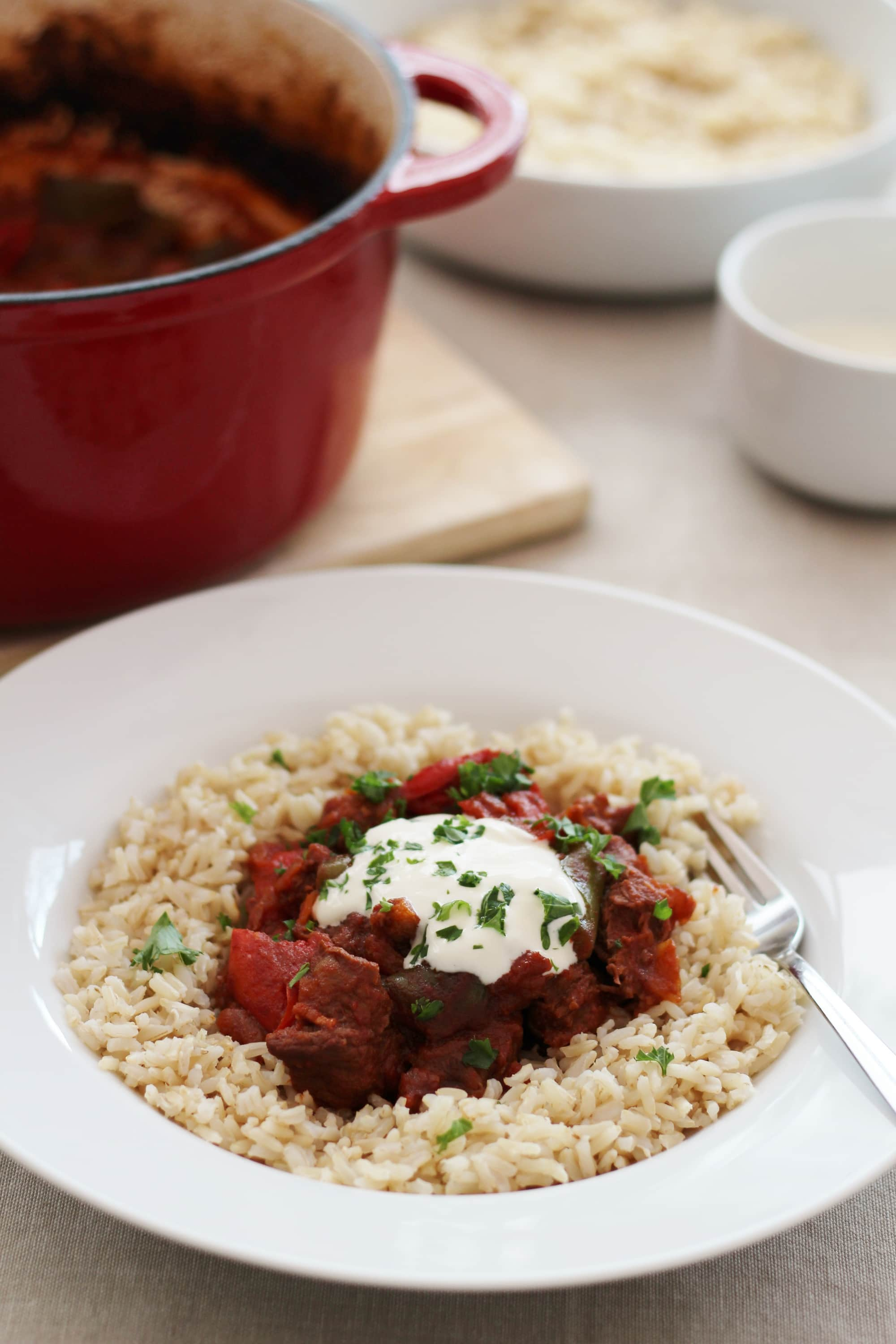 Hungarian Beef Goulash Easy Peasy Foodie
