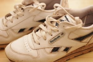 My insanely old trainers...but hey - they still work!