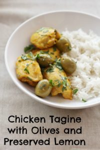 Chicken Tagine with Olives and Preserved Lemon