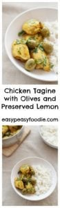 Chicken Tagine with Olives and Preserved Lemon - easypeasyfoodie.com