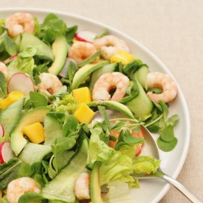 Easy Prawn, Avocado and Mango Salad