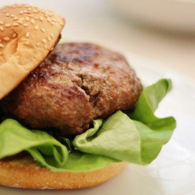 Easy Peasy Homemade Beef Burgers