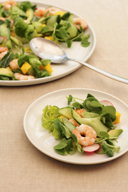 Prawn Avocado And Mango Salad