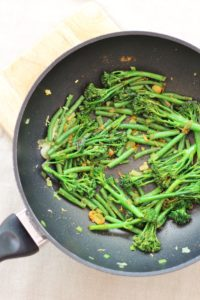 Fry the veg and spices