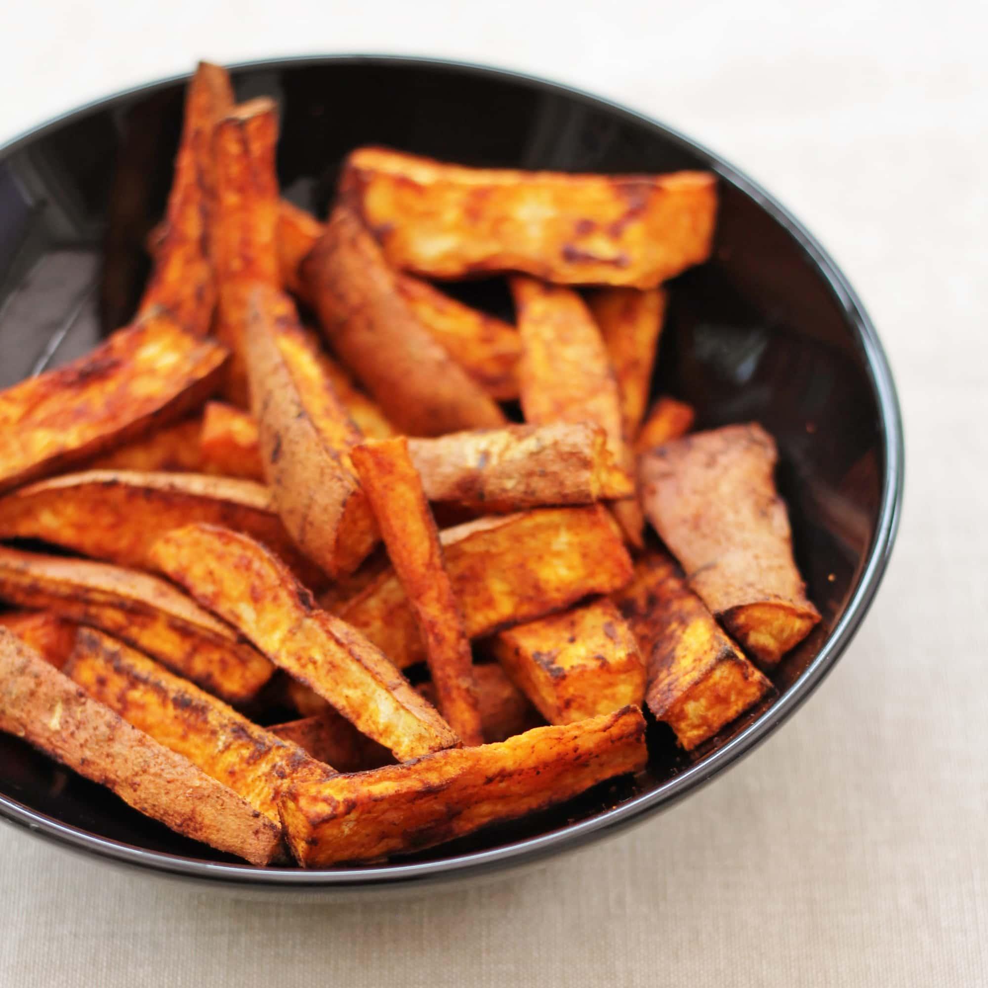 Homemade Sweet Potato and Smoked Paprika Chips