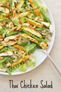 Thai Chicken Salad from Ready Steady Glow by Madeleine Shaw