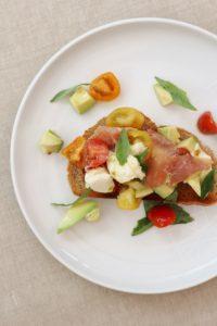 Italian Inspired Avocado On Toast