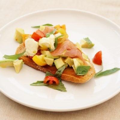 Italian Style Avocado Toast