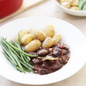 Sirtfood Beef Bourguignon