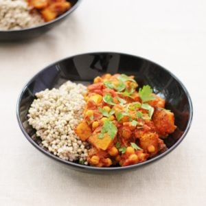 Butternut Squash and Date Tagine from the Sirtfood Diet