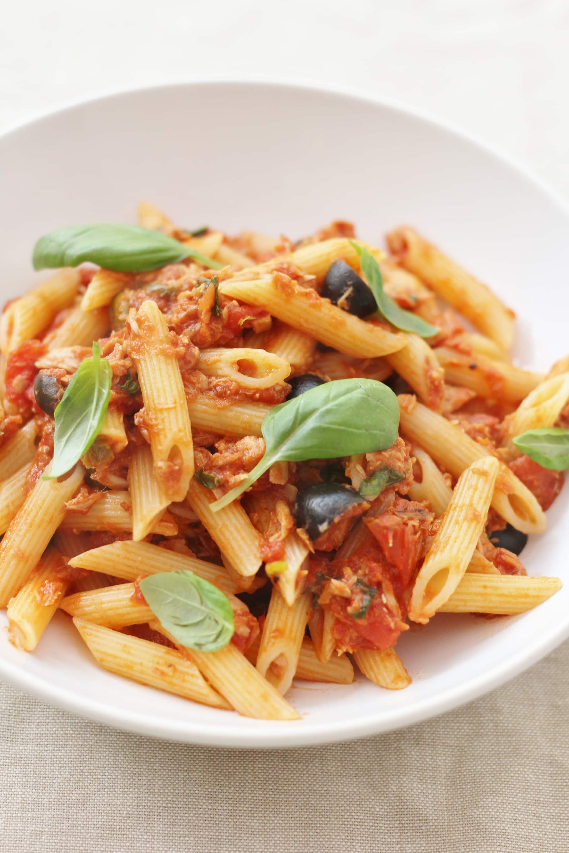Easy Sicilian Style Tuna Pasta Easy Peasy Foodie