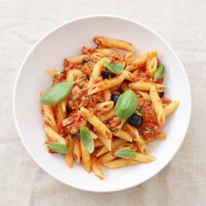 Easy Sicilian Style Tuna Pasta