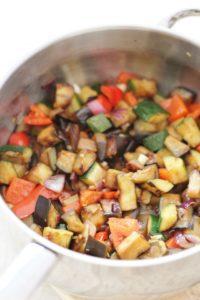 Hidden Vegetable Ratatouille Pasta
