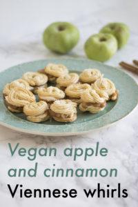 Vegan Apple And Cinnamon Viennese Whirls