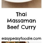 Thai Beef Massaman Curry