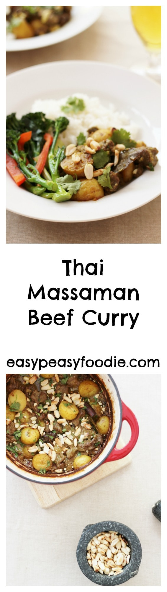 Thai Beef Massaman Curry Pinnable Image for Pinterest