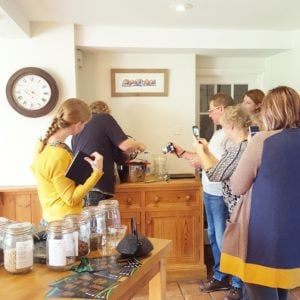 Review: Food Writing Course at All Hallows Farmhouse with Delicious Editor Karen Barnes