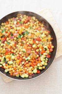 Chickpea and Apricot Couscous Salad for the #FloraLunchbox Challenge