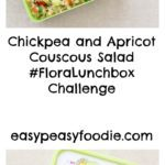 Stuck for lunchbox ideas? Why not try this delicious, easy and child friendly Chickpea and Apricot Couscous Salad? It's quick to make, full of nutrients and very easily adapted to your own family's preferences.