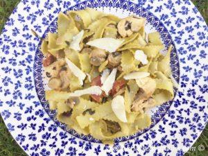Chicken and Chorizo with Artisan Tagliatelle