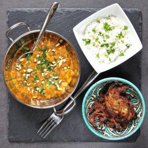 Chicken Peanut Curry - gluten & dairy free