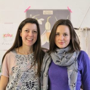 Catherine Frawley and Eb Gargano at Makelight Food Photography Workshop